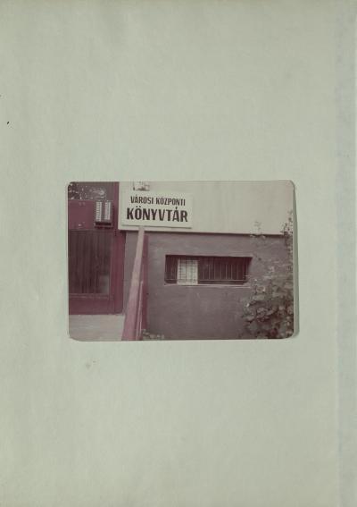 Szolnok Hild Viktor Könyvtár 2000-2002