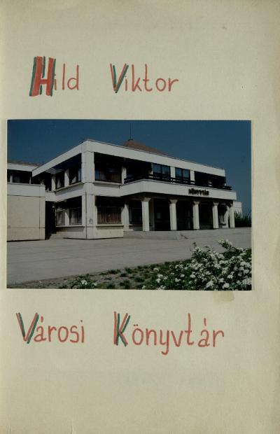 Szolnok Hild Viktor Könyvtár 1992-1995