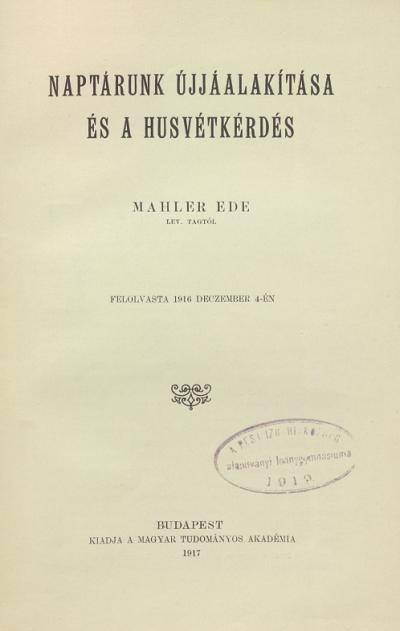 Mahler_Husvet_lead