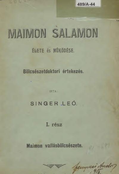 Singer_Maimon_Lead