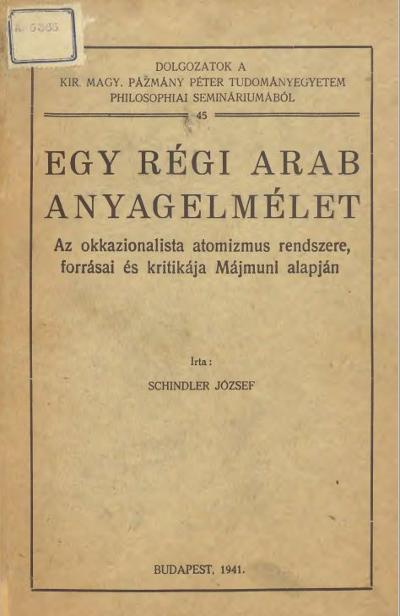 Arab_Anyagelmélet_Lead