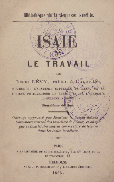 Isaac Levy_Travail_lead