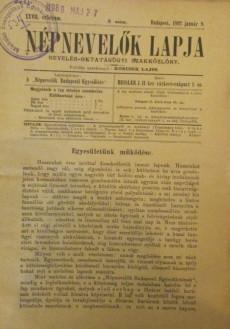 Népnevelők lapja 1892